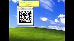 How to add DataMatrix barcode in OpenOffice
