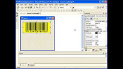 Create barcodes in Visual studio using .NET Control