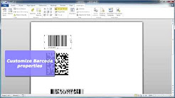 Create barcodes in Word 2010