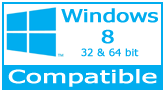 PDF417 .NET Control compatible with Windows Vista, XP, 10, 8 32-bit and 64-bit